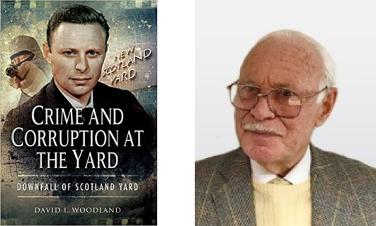 """Crime and corruption at the Yard"" and author David Woodland"