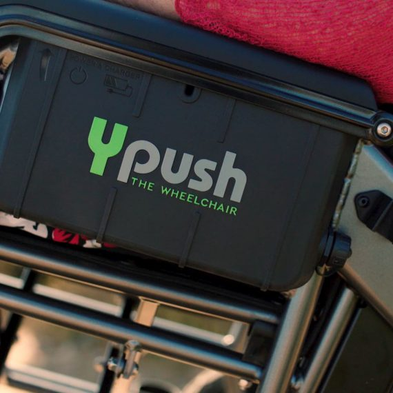 Ypush - powered wheelchair
