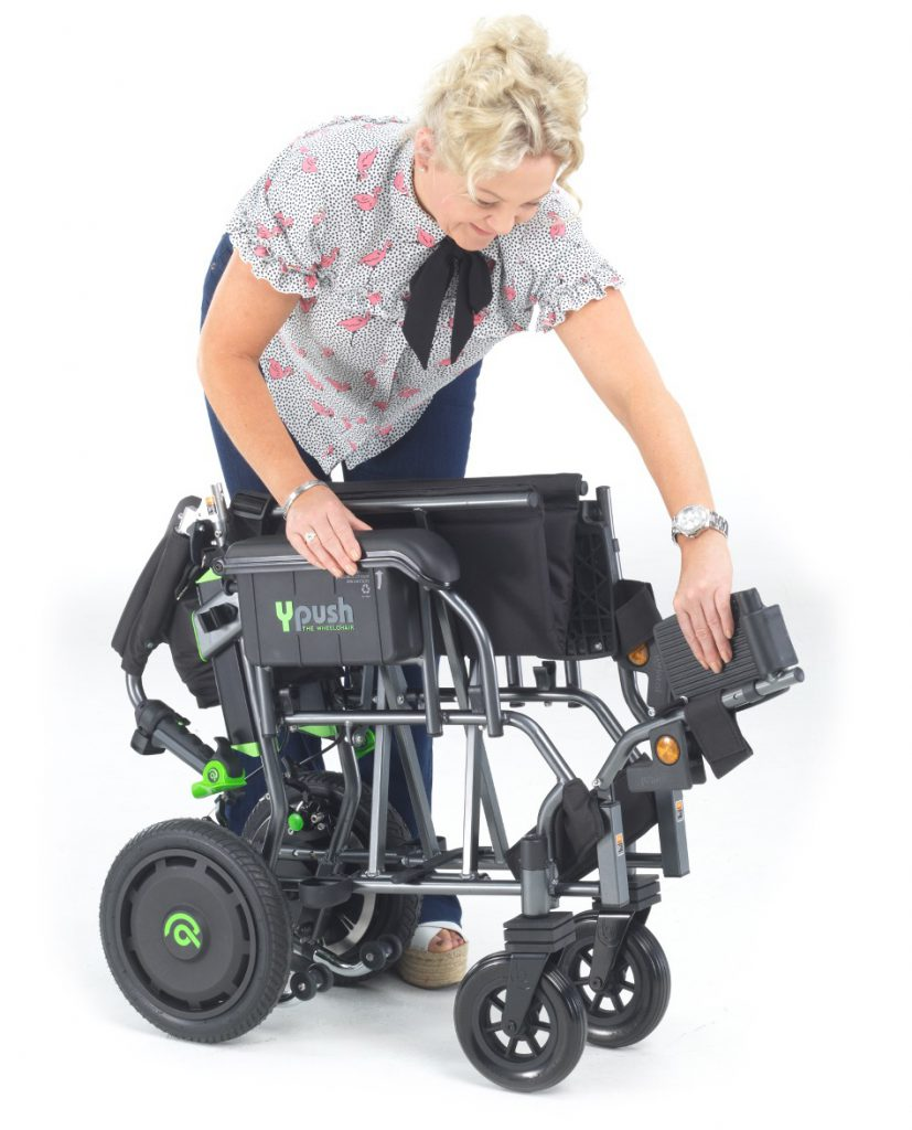 Ypush The Wheelchair